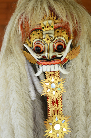 Bali Barong and Rangda used in Bali traditional religious dance Imagens