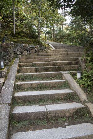 Zen garden at Kodai temple in Kyoto, Japan