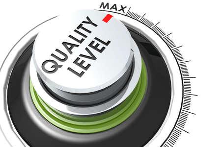Quality level turn to maximum, 3D rendering