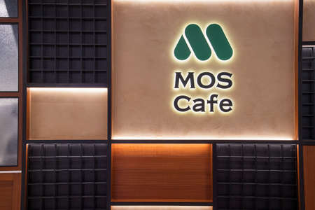 Singapore - Dec 31, 20120: MOS Cafe located in Jewel Changi Airport, Singapore. MOS Cafe is a fast food joint that caters to Japanese cafe lovers