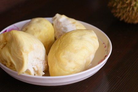 regarded: Durian is regarded as the king of fruits, and shows its high nutritional value.