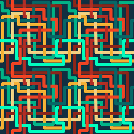 Nahtloses Muster der Rohrleitungen. Gut für Tapeten, Hintergrund für professionelle Websites, Geschenkpapier.