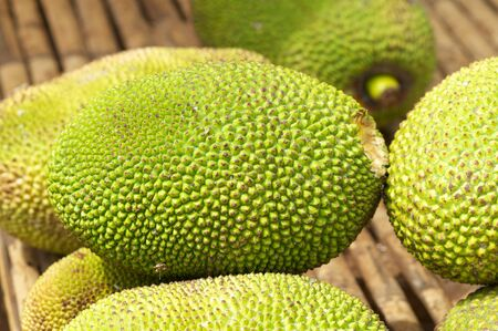 Jackfruit in market,Cambodia
