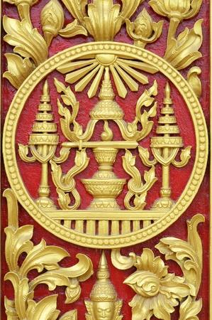 Royal symbol in Phnom Penh, Cambodia Editorial