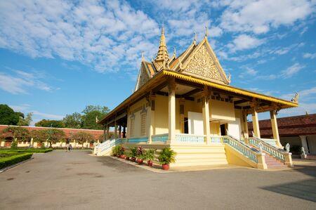 Grand Palace at Phnom Penh, Cambodia.