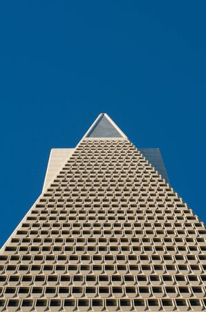 transamerica: Famous Transamerica Landmark Building in San Francisco Editorial