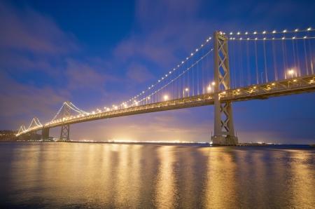 San Francisco Bay Bridge view from Embarcadero