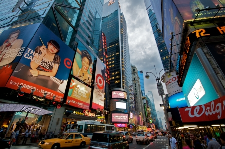 Times Square in New York City Stock Photo - 14639424