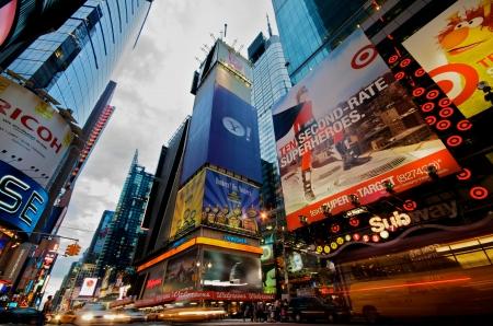 Times Square en Nueva York Editorial