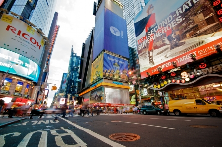 Times Square in New York City Stock Photo - 14639421