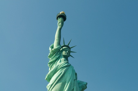 Liberty Statue in New York City photo