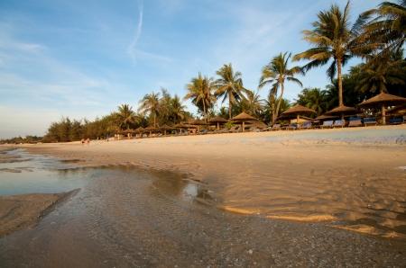 Beach vacation resort in Vietnam photo