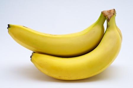 Yellow banana on white background Imagens - 14852021