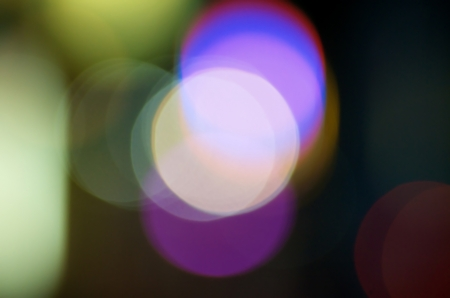 Abstract out of focus light circles  photo