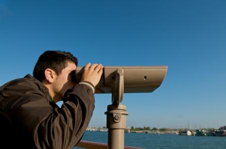 The Vision through the Binoculars
