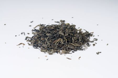pekoe: Tea heap on isolated background