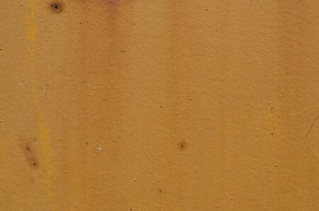 Rusty yellow metal grunge texture Stock Photo