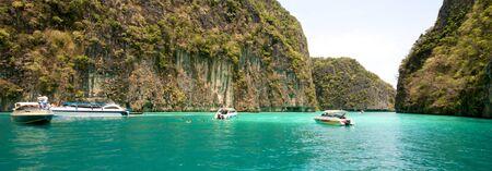 Beautiful Blue Lagoon in Thailand