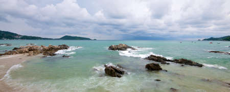 Thailand Ocean at Phuket Island Stock Photo