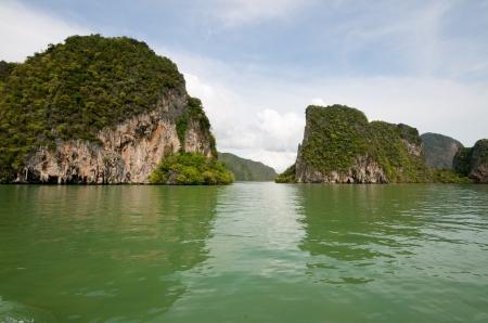 Beautiful Island Scenery in Thailand