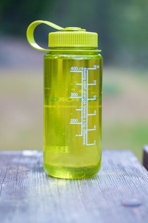 Water bottle for a hiking trip Stock Photo - 14852586