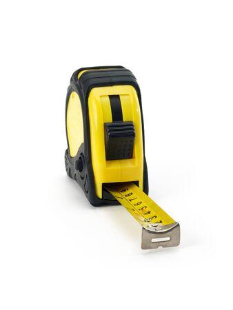 空撮から黄色のメジャー テープ 写真素材 - 16570981