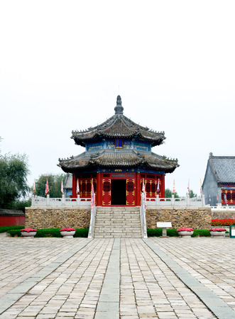 emperor of china: The first emperor pagoda of the Qing Dynasty in China Kuandian Editorial