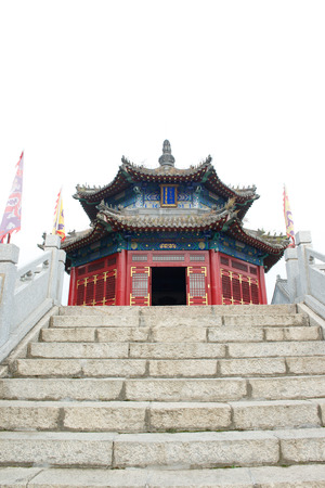 dynasty: The first emperor pagoda of the Qing Dynasty in China Kuandian Editorial