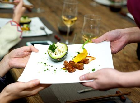 comida gourmet: que sirve comida gourmet en el restaurante
