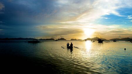El Nido coastal area in the Palawan Island in the Philippines. photo