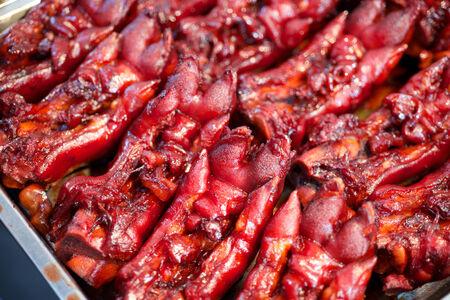 manjar: Cerdo alimentos pies manjar en China