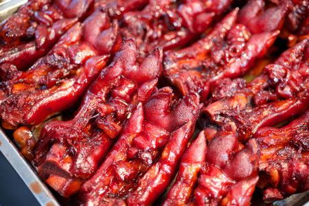 Pork feet delicacy food in China Reklamní fotografie