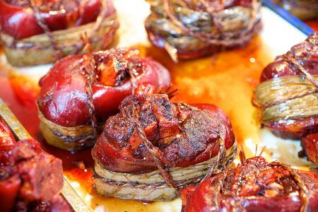 delicadeza: Cerdo comida delicadeza nudillo en China