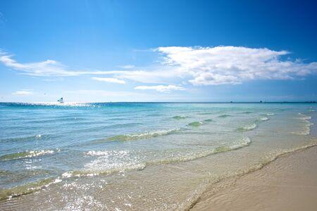 boracay: Beach in Boracay Island in the Philippines.