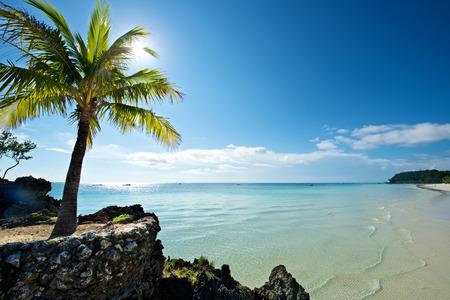 Beach in Boracay Island in the Philippines.
