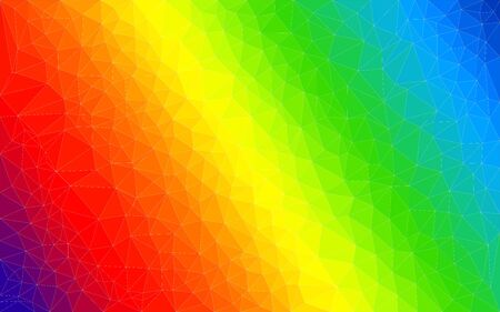 ight: Polygon gradient vector colorfol ight spectrum background