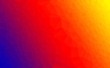 blue gradient: Polygon gradient vector colorfol ight spectrum background