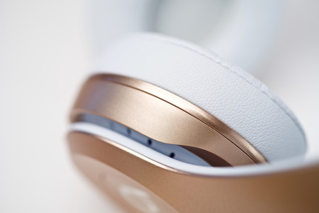 bluetooth: Music wireless headphone industrial design detail shapes