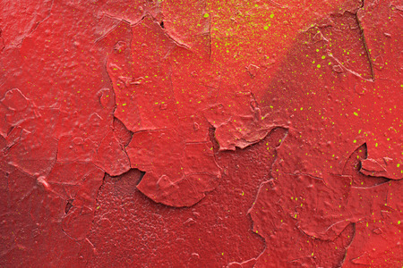 stone wall: Painted Red Color Graffiti Wall texture