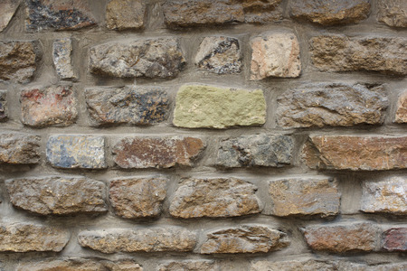 rough: Medieval stone wall background pattern