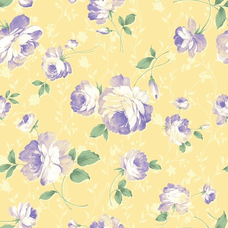 blue rose seamless background pattern Stock Photo - 8899674