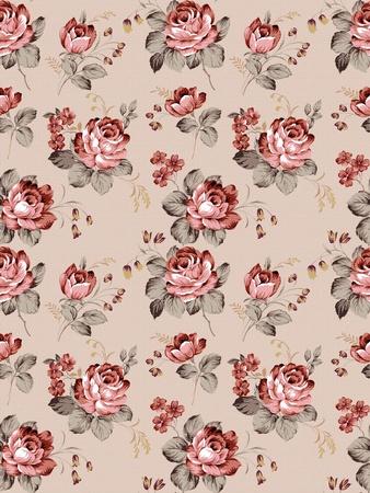 Rosa patrón transparente