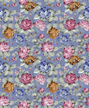 rose seamless texture pattern Stock Photo - 8896033