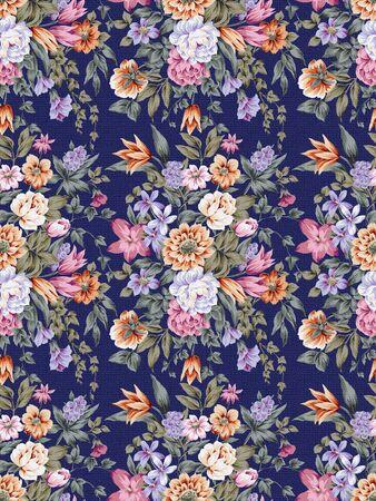 paisley pattern: paisley seamless background pattern  Stock Photo