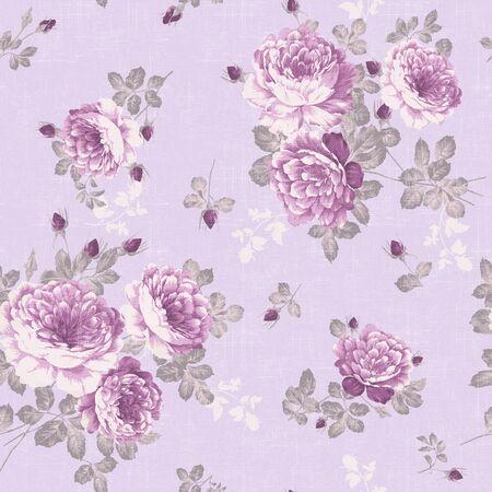 floral background , element for blue design pattern  photo