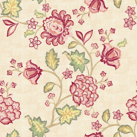 Seamless prink floral background. For easy making seamless pattern use it for filling any contours.  photo