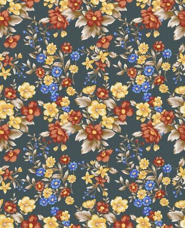 nosegay: floral background , element for blue design pattern