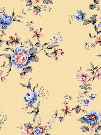 floral background , element for design pattern  photo