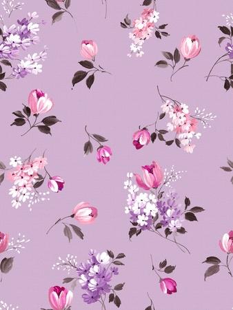 Stylish beautiful bright floral  photo