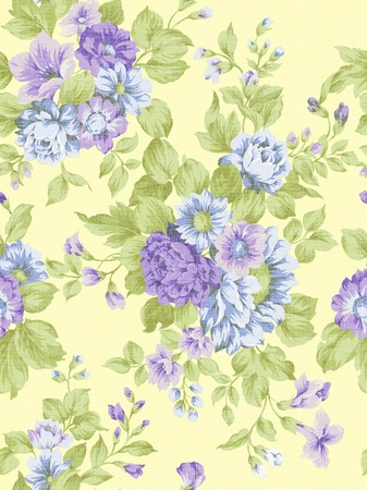 the magnificence: paisley seamless background pattern  Stock Photo